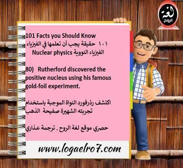 الفيزياء النووية 80
