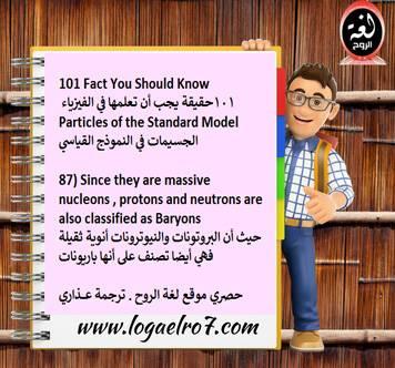 فيزياء الجسيمات 87