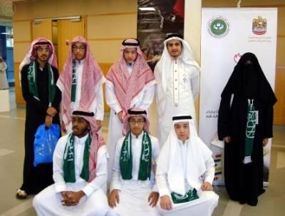 الفريق السعودي ينفرد بالمراكز الستة الأولى في أولمبياد الرياضيات الخليجي الأول