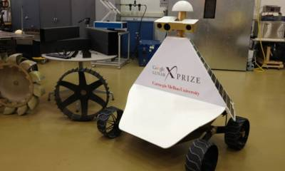 """5 فرق تتأهل لجائزة """"جوجل"""" للهبوط على القمر"""
