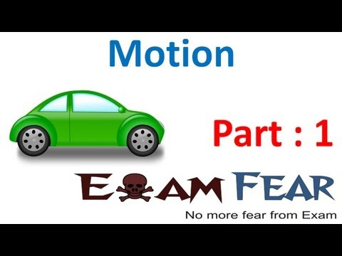 Introduction Rectilinear & circular motion